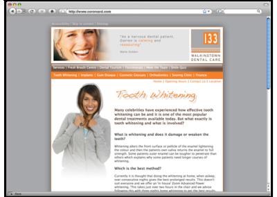 dental website examples