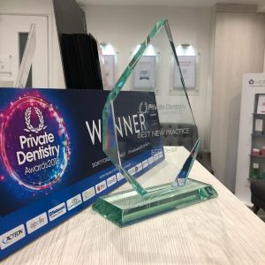 Corona Dental helped EGODental win The Best New Practice - Private Dentistry Awards