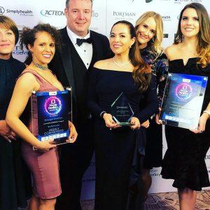Corona Dental client Bishopsgate Dental Care team at the Private Dentistry Awards 2018
